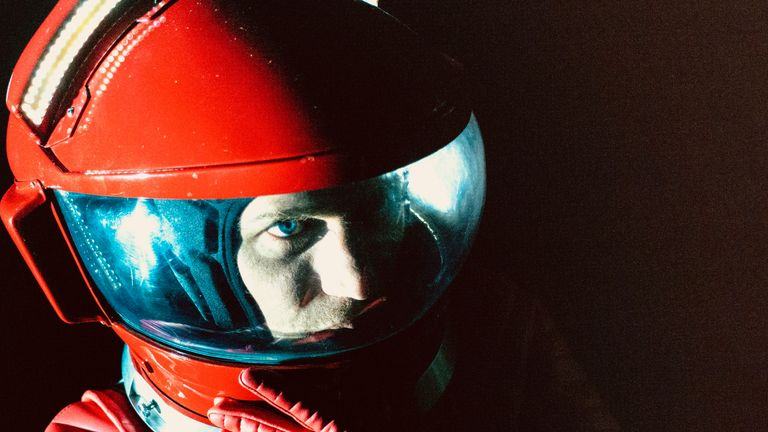 Flynn as Bowie in the Starman video. PIC: Stardust/IFC Films