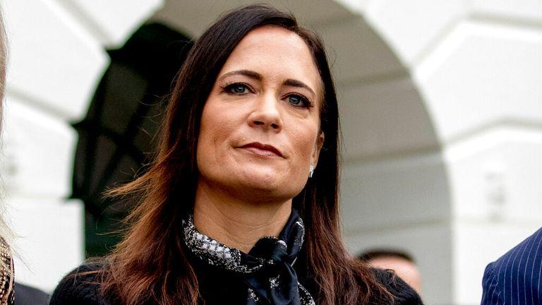 Kepala staf untuk ibu negara Stephanie Grisham