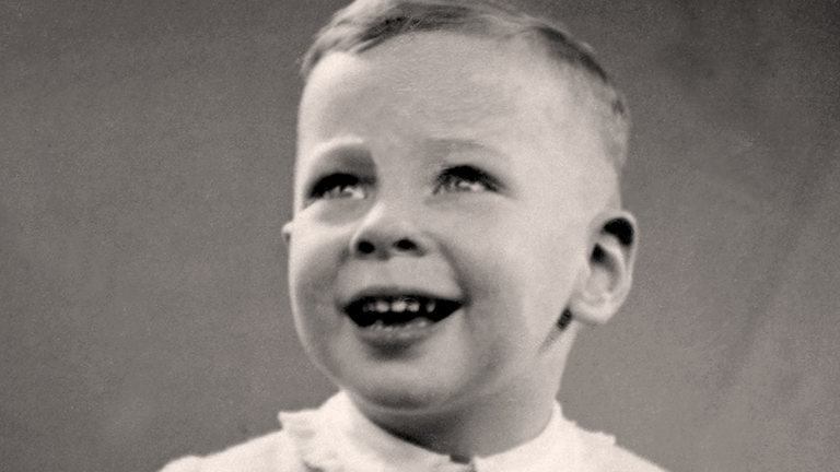 Steven Frank BEM – he was one of only 93 children who survived the Theresienstadt concentration camp. Credit: Family
