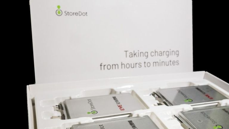 StoreDot's electric car batteries can be fully charged in just five minutes