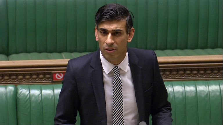 "In an update to MPs on Monday, Rishi Sunak said: ""We should expect the economy to get worse before it gets better."""