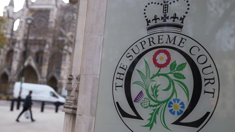 The Supreme Court is the UK's highest court