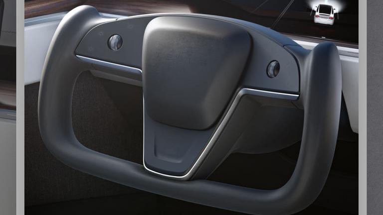 Tesla's new steering wheel