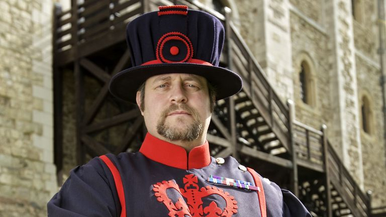 Ravenmaster Chris Skaife says there are still seven ravens in residence preventing the fall of the kingdom.