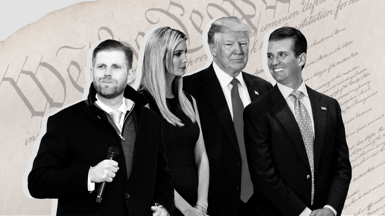 Donald Trump could pardon himself and his family