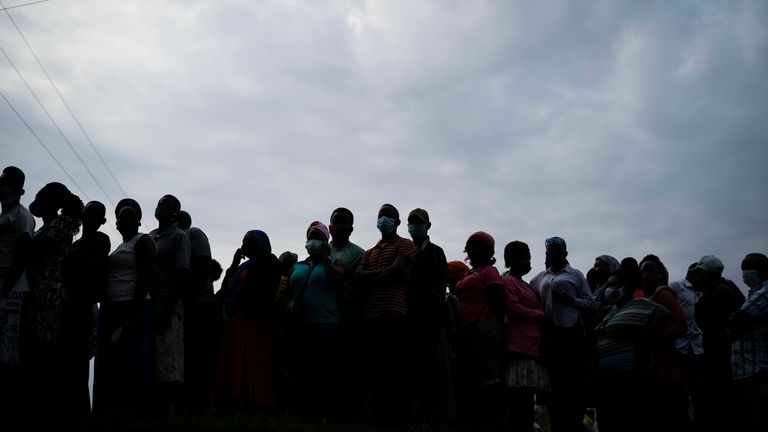 There are more than 17 million registered voters in the East African country