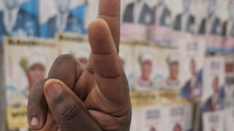 Hand gestures in Uganda are a sign of your politics