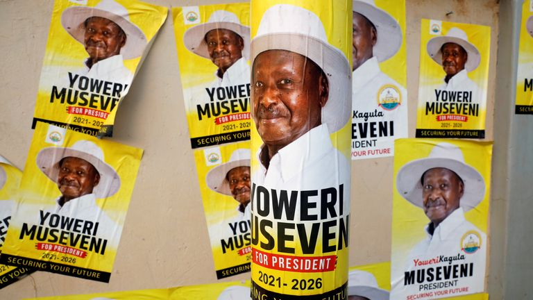Yoweri Museveni has been in power for 35 years in Uganda