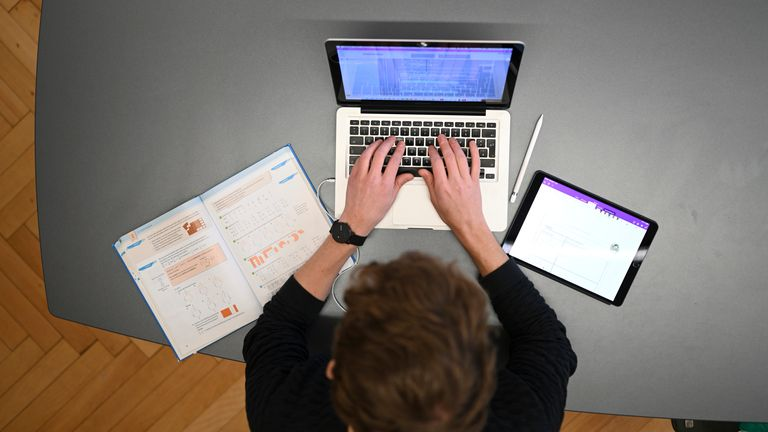 University students have had to revert to online teaching during the pandemic