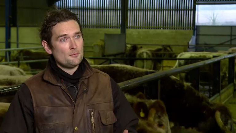 Joe Stanley is a beef and arable farmer in Leicestershire