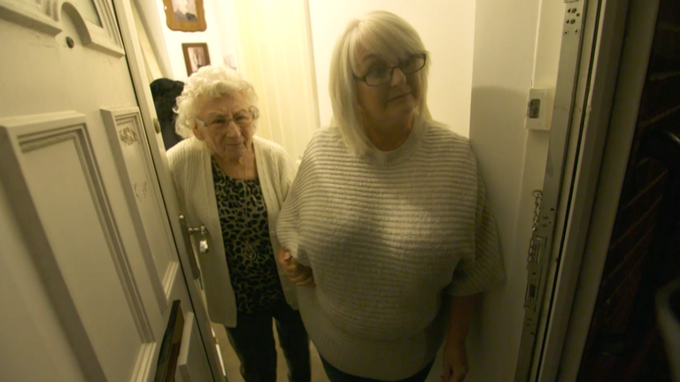 Vera Hart, 89, and has been shielding with her daughter Dee in Blackpool since March and hardly leaves the house