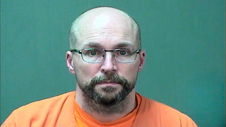 In this booking photo provided by the Ozaukee County Sheriff...s Office Monday, Jan. 4, 2021 in Port Washington, Wis. Steven Brandenburg is shown.The Wisconsin pharmacist, accused of intentionally spoiling hundreds of doses of coronavirus vaccine, convinced the world was ...crashing down... told police he tried to ruin hundreds of doses of coronavirus vaccine because he felt the shots would mutate people's DNA, according to court documents released Monday. (AP Photo/Ozaukee County Sheriff/HO)