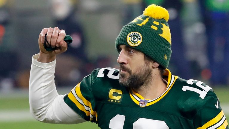Relive some of quarterback Aaron Rodgers' best plays for Green Bay as the Packers beat the Los Angeles Rams to reach the NFC Championship Game