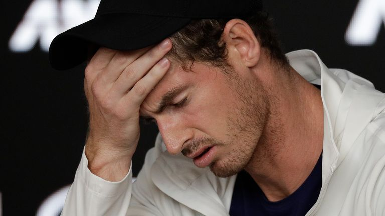 Andy Murray was awarded a wildcard to compete at the Australian Open