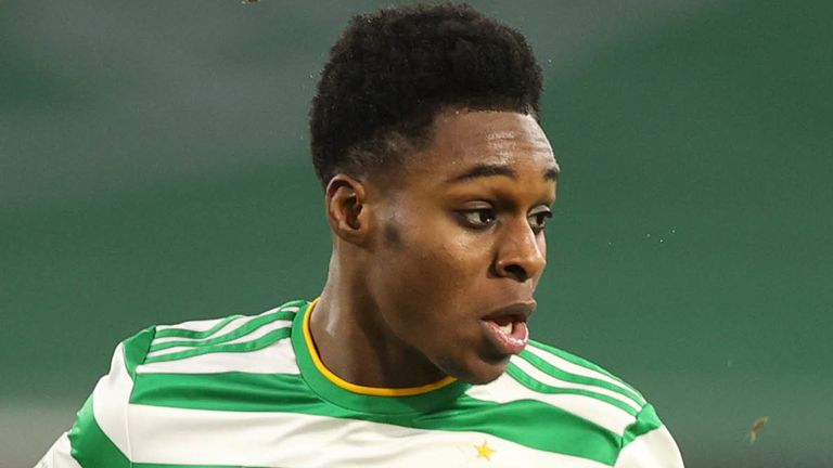 Neil Lennon says Celtic have received a 'robust' offer for Jeremie Frimpong and the defender is abroad speaking to another club.