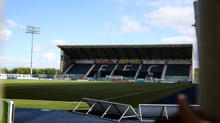 Falkirk are top of League One in Scotland