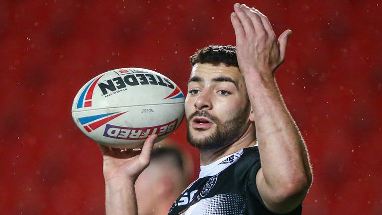 Jake Connor set up Carlos Tuimavave's match clinching try in Hull FC's win over Wakefield last time out.
