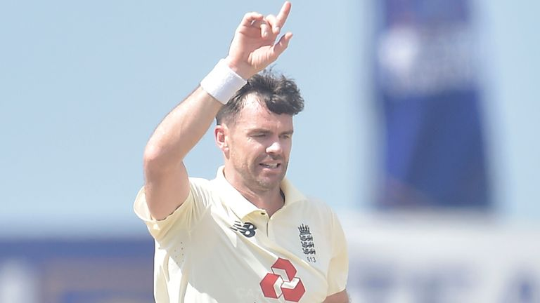 Sri Lanka portal - James Anderson removed Kusal Perera and Oshada Fernando in the same over early in Galle