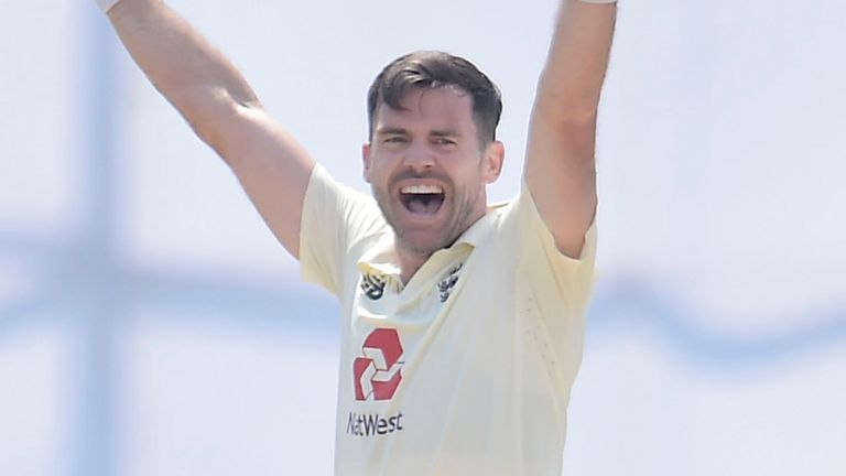 Sri Lanka portal - James Anderson took 6-40 as he became the oldest seamer to take a five wickets or more in a Test match in Asia