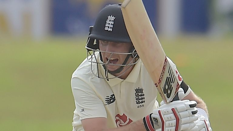 Sri Lanka portal - Joe Root finished day one unbeaten on 66 in the first Test at Galle