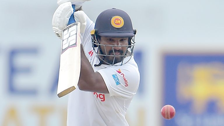 Sri Lanka portal - Kusal Perera made a half-century as Sri Lanka started well in their second innings