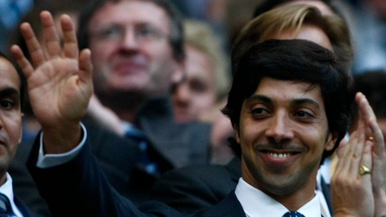 Manchester City owner Sheikh Mansour - AP Images