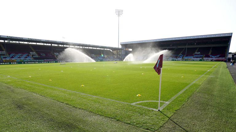 PA - General view of Burnley's Turf Moor stadium