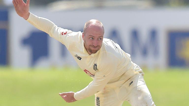 Sri Lanka Portal - Jack Leach, day one of second Test against Sri Lanka