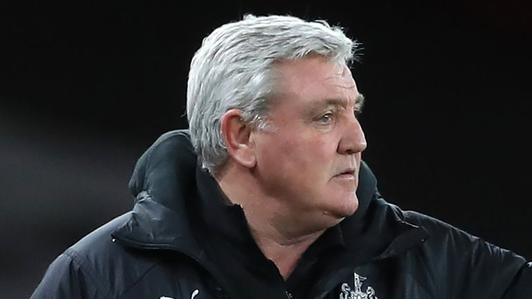 Newcastle head coach Steve Bruce says he is 'quietly confident' his side can avoid relegation after their 3-1 loss at Manchester United left them just three points above the bottom three