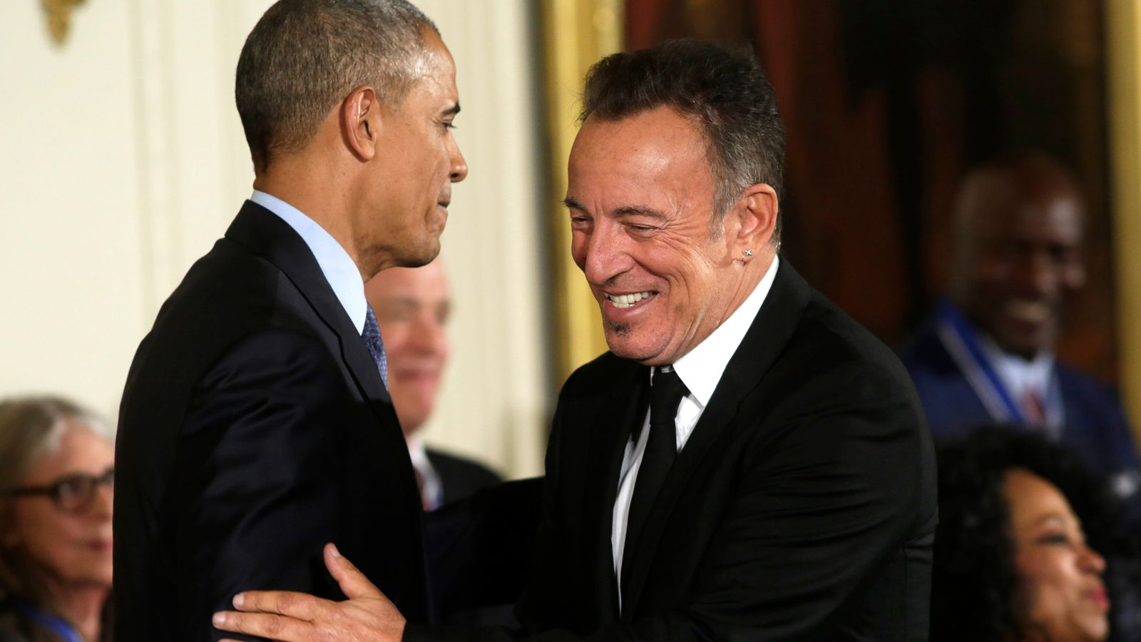 Born in the USA: Obama and Springsteen together for Renegades podcast
