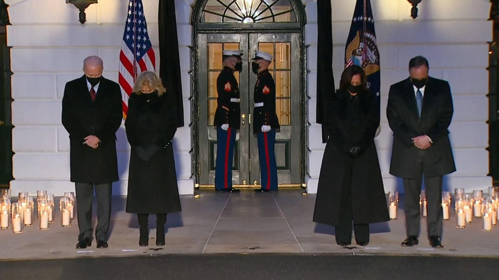 COVID-19: Biden leads candlelit ceremony for COVID victims as US passes half 1,000,000 deaths