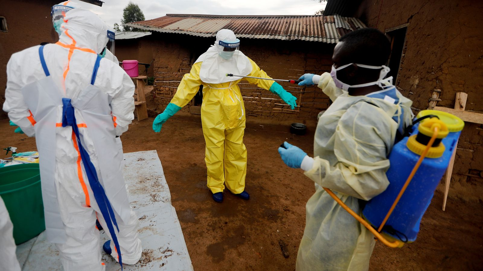 Congo Ebola death investigated to see if woman was infected through husband's semen