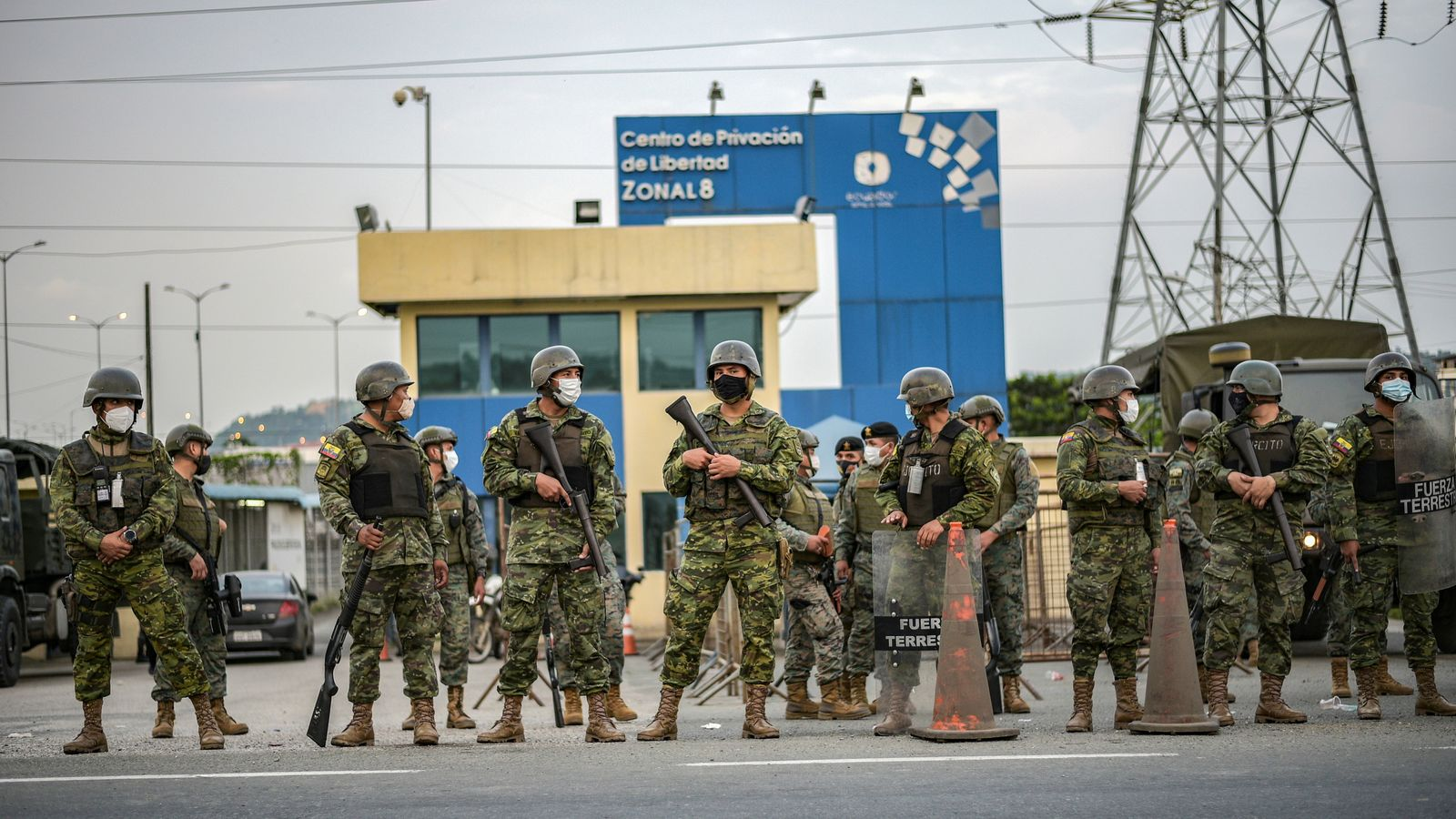 Ecuador: Inmates 'beheaded and dismembered' as 79 killed in prison riots