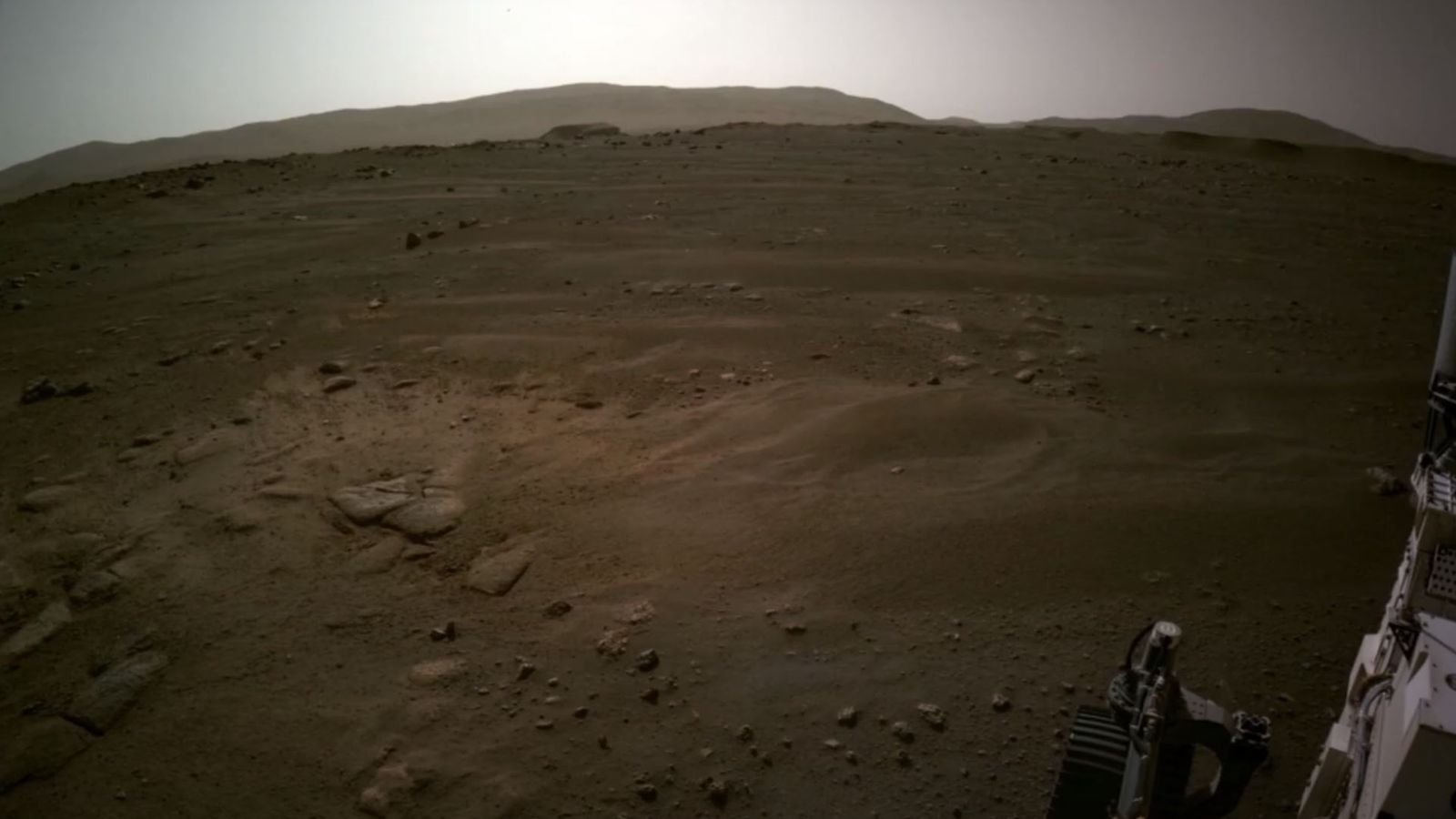 Mars touchdown: NASA releases new photos captured by the Perseverance rover