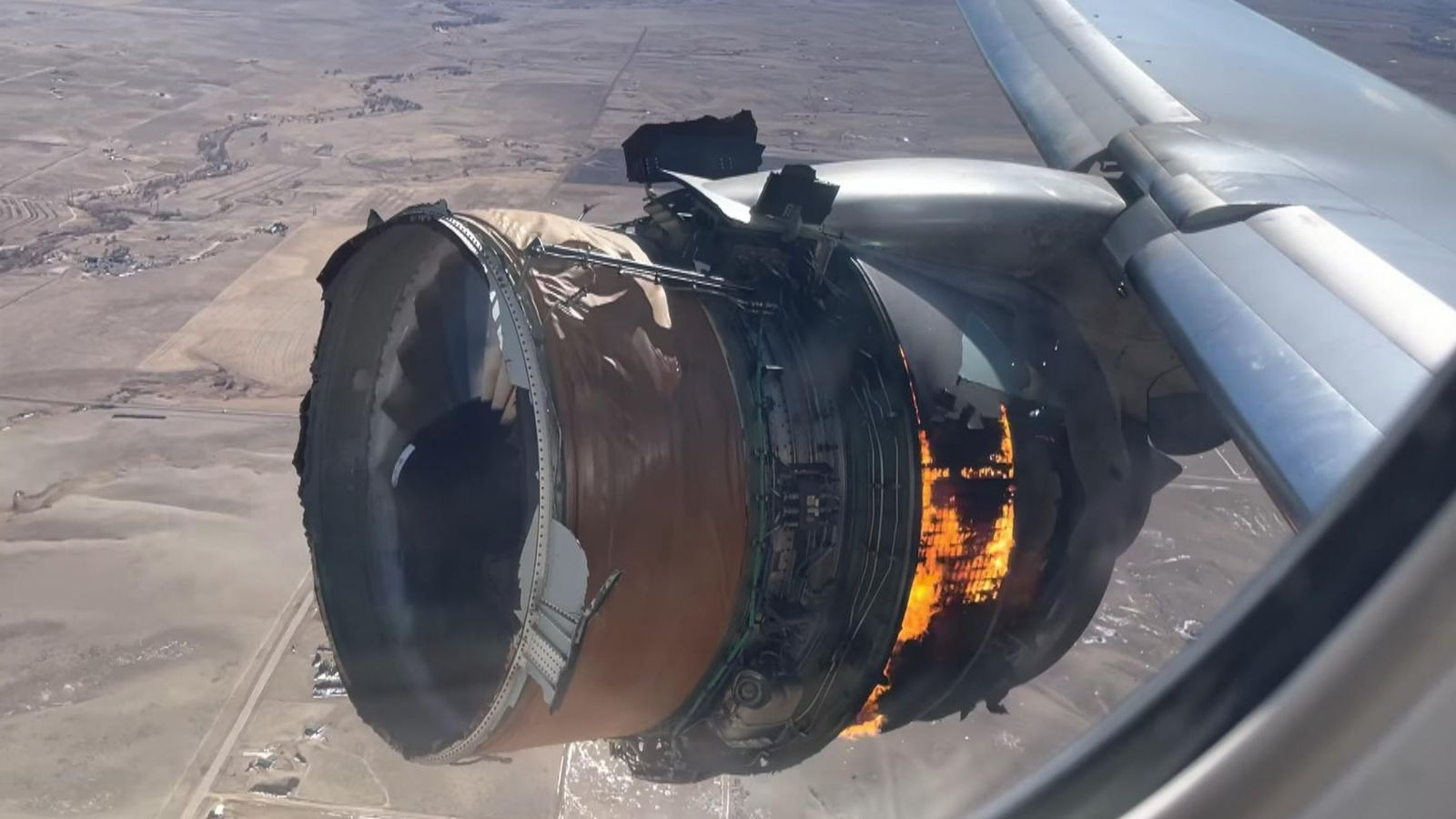 Denver plane engine fire consistent with metal fatigue, investigators say