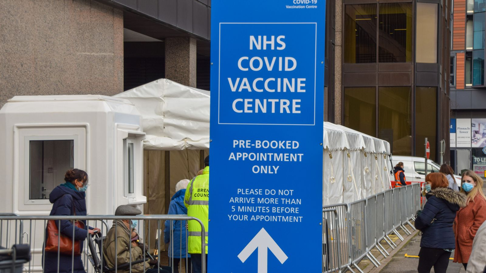COVID-19: Vaccines minister 'confident' everyone over 50 will be offered coronavirus jab by May