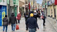 Shoppers in Douglas enjoying normal life again after the lifting of restrictions in the Isle of Man