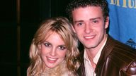Justin Timberlake and Britney Spears. Pic: AP