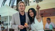 Salma Hayek and Owen Wilson in Bliss. Pic: Amazon Studios