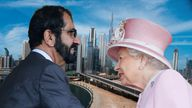 The rule of Dubai, Sheikh Mohammed bin Rashid al Maktoum, meets the Queen every summer at Ascot and other races