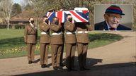 Sir Tom Moore funeral