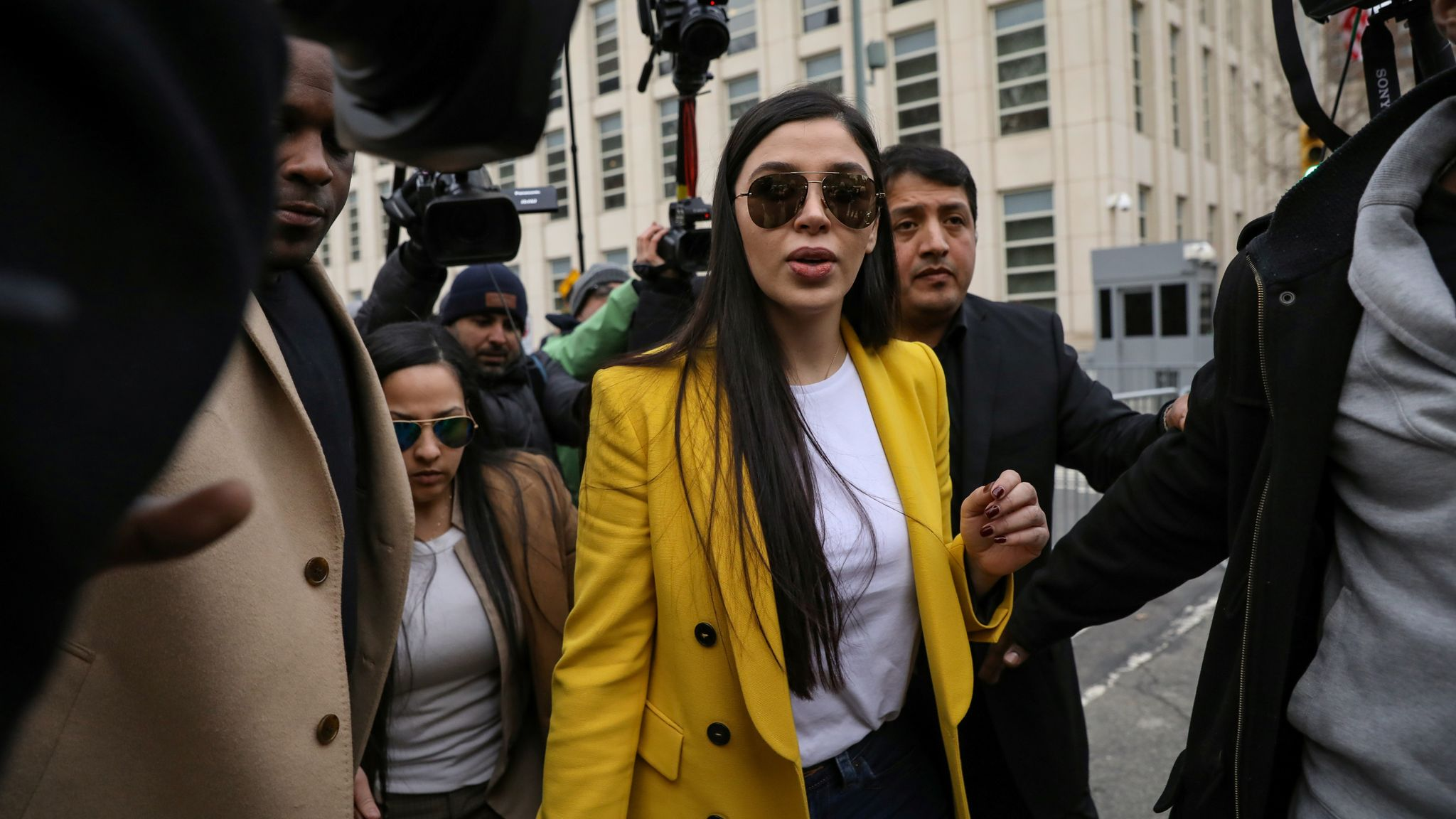 El Chapo's wife arrested on drug trafficking charges - as she is also  accused of plot to break husband out of prison | World News