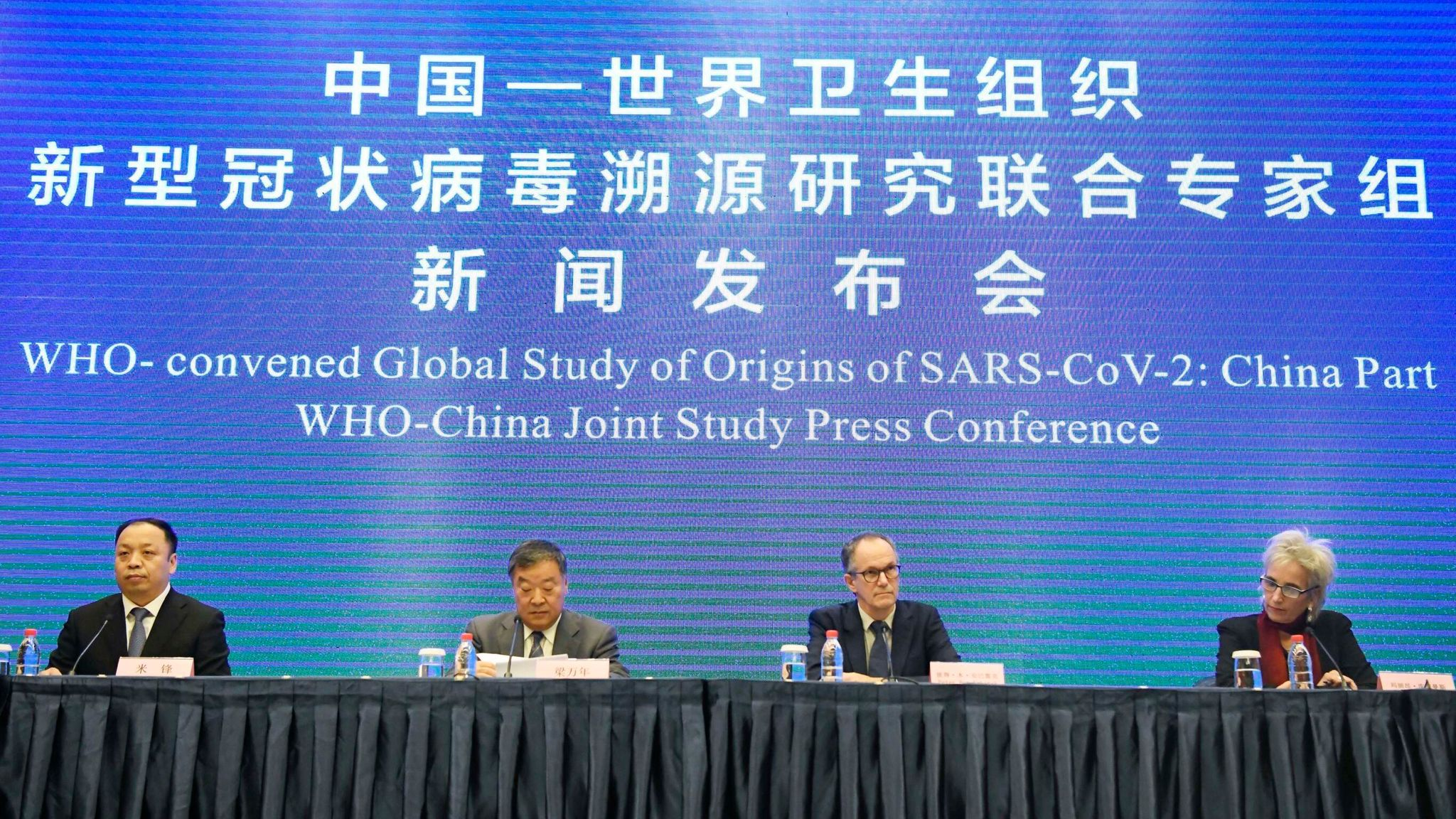COVID-19: WHO experts will leave China with three theories about the origins  of the virus | World News | Sky News