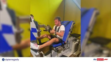 F1 drivers' intense pre-season workouts!