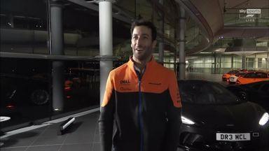 Ricciardo's grand McLaren arrival