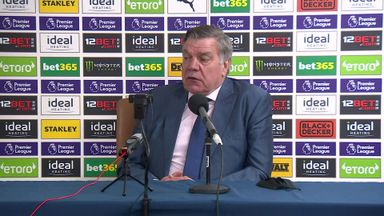 Allardyce: I haven't seen a quick free kick in years!