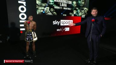 Hearn slams judges' scoring in Barrett win