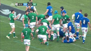 Italy 10-48 Ireland: Highlights