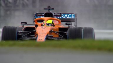 First look: McLaren's new car on track