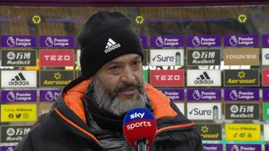 Nuno 'proud' of Wolves' performance